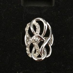 Silver Ring with CZ stones